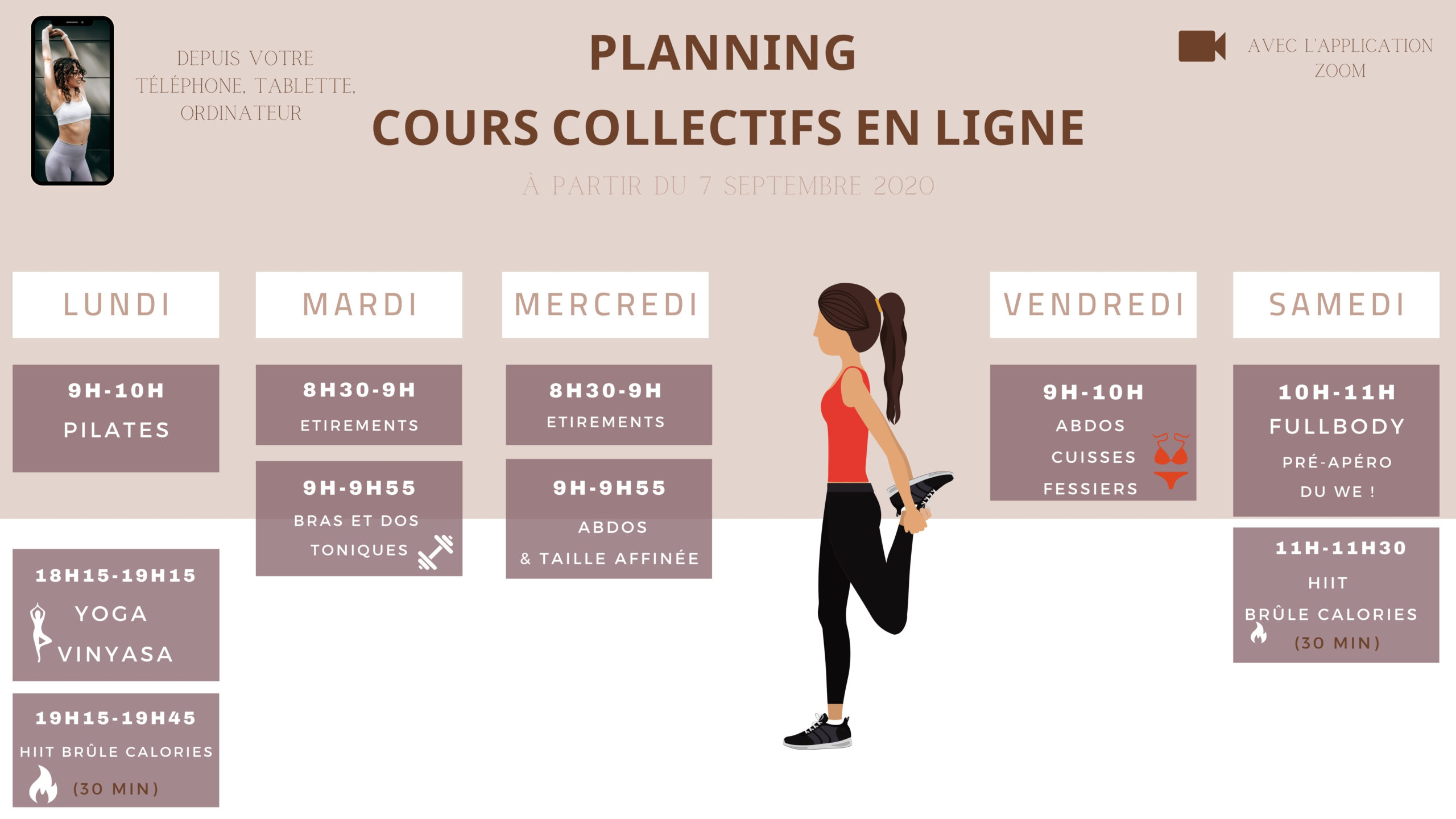 planning coaching à distance
